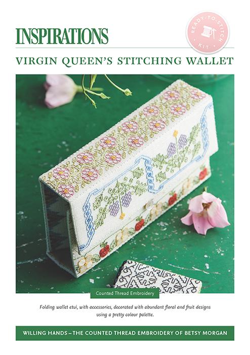 Virgin Queen's Stitching Wallet - Willing Hands Kit