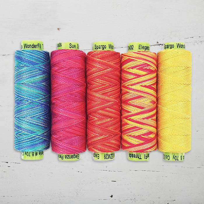 Sue Spargo Thread Pack - Eleganza Variegated