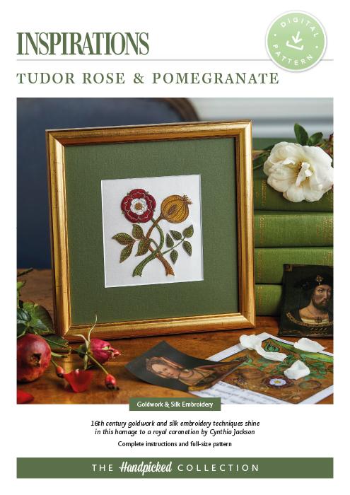 Tudor Rose & Pomegranate - HP Digital