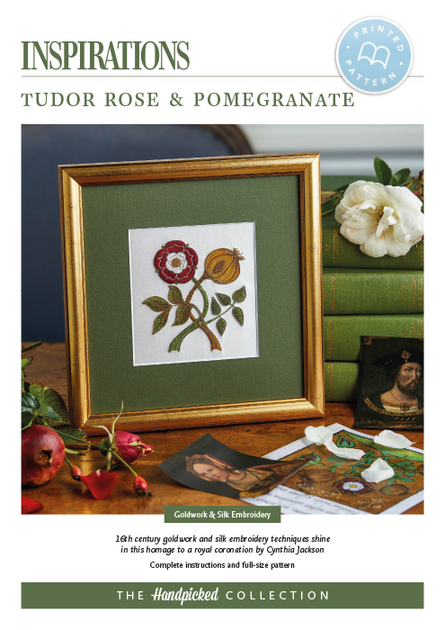 Tudor Rose & Pomegranate - HP Print