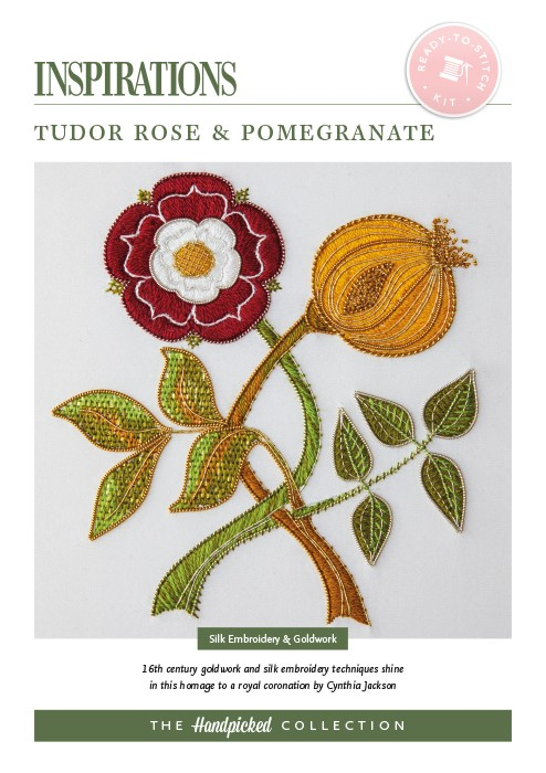 Tudor Rose & Pomegranate - HP Kit