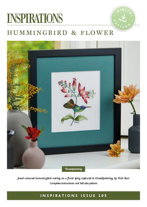 Hummingbird & Flower - i105 Digital