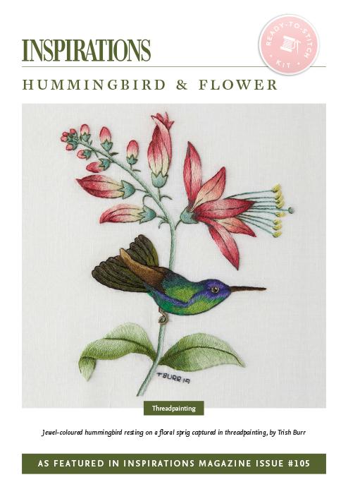 Hummingbird & Flower - i105 Kit