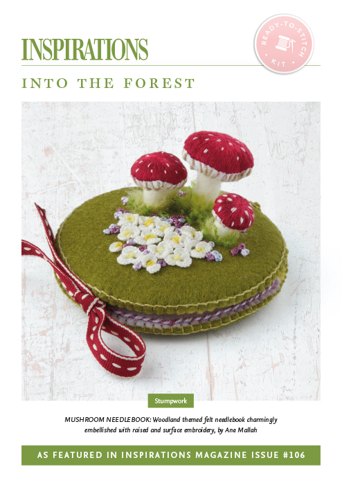 Into the Forest: Mushroom Needlebook - i106 Kit