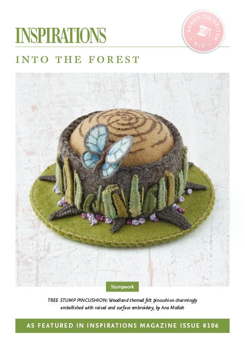 Into the Forest: Tree Stump Pincushion - i106 Kit