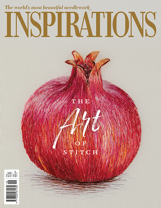 Inspirations Issue 106 - The Art of Stitch