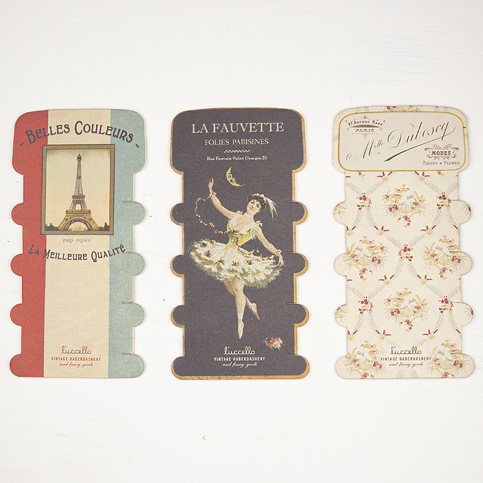 L'uccello Thread Cards - Belles Couleurs