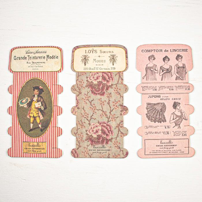 L'uccello Thread Cards - Grande Teinturerie Modele