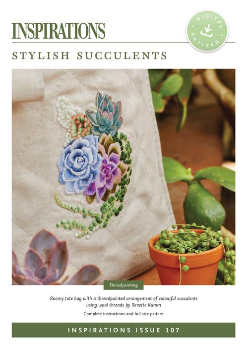 Stylish Succulents - i107 Digital