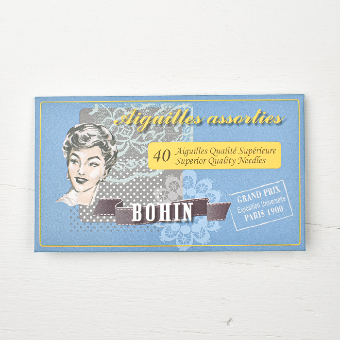 Bohin Needlebook - Blue