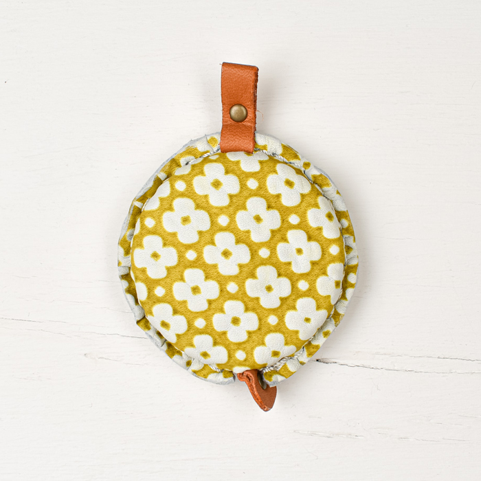 Cohana Leather Tape Measure - Yellow