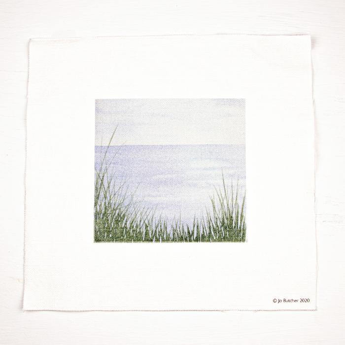 Jo Butcher Printed Fabric - Sea View