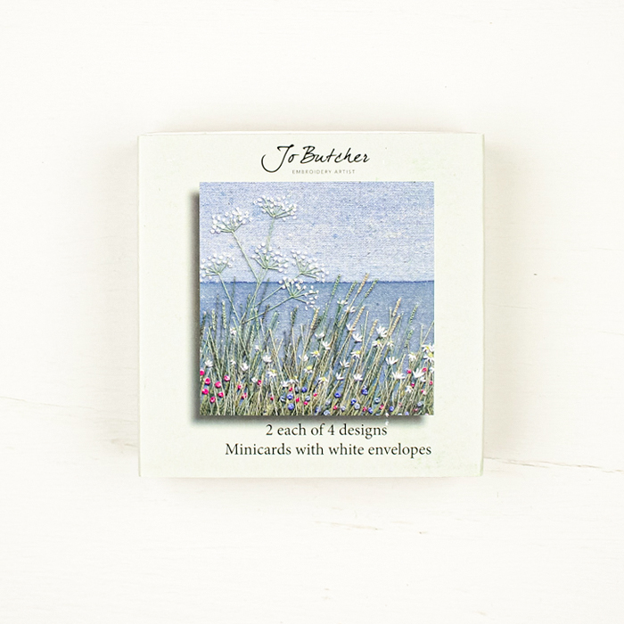 Jo Butcher Mini Cards - Cow Parsley by the Sea