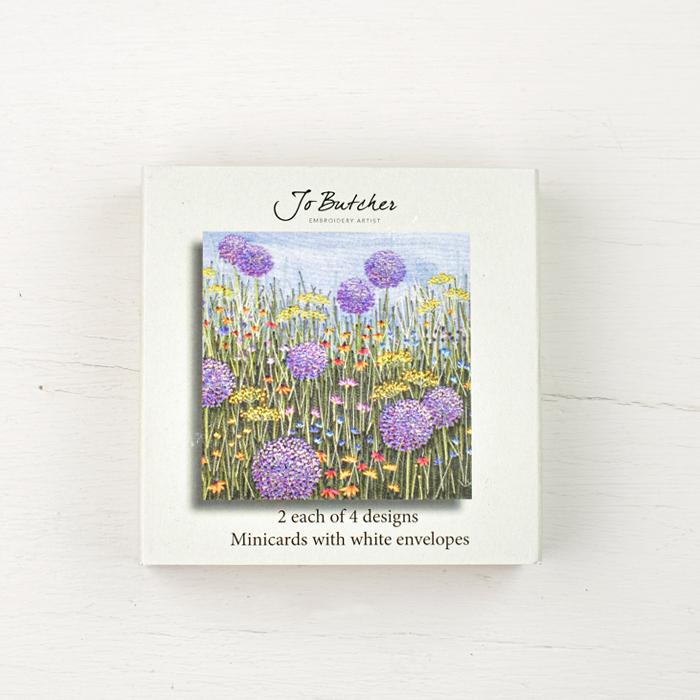 Jo Butcher Mini Cards - Allium Meadow