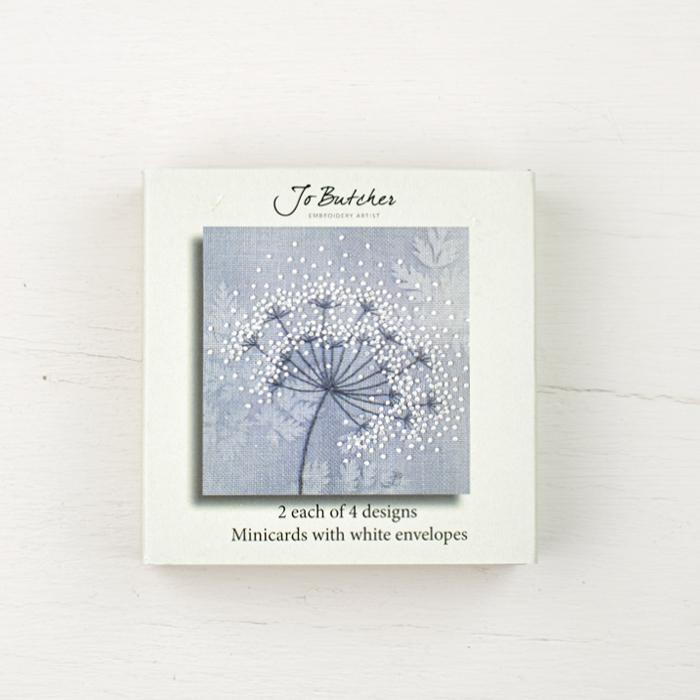 Jo Butcher Mini Cards - Queen Anne's Lace