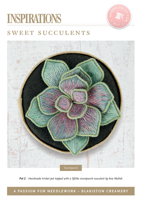 Sweet Succulents: Pot 2 - APFN3 Kit