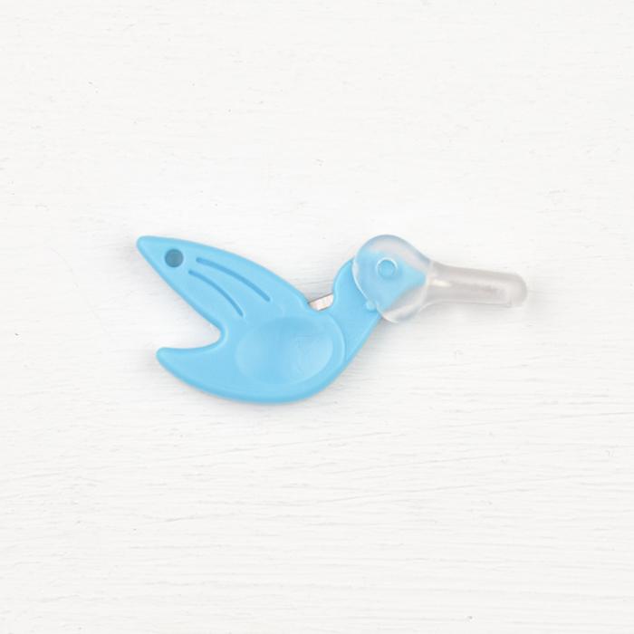 Hummingbird Needle Threader - Blue