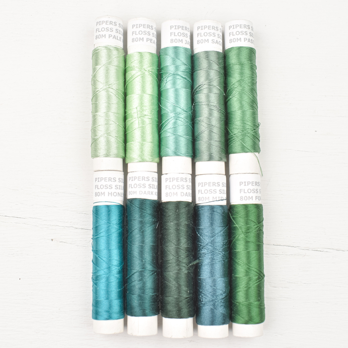 Pipers Silks Thread Pack - Misty