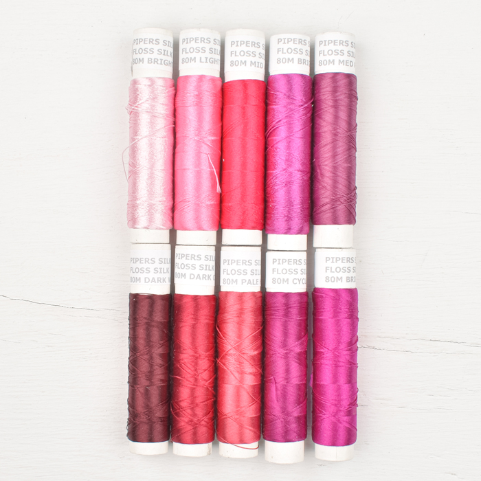 Pipers Silks Thread Pack - Summer Fruits