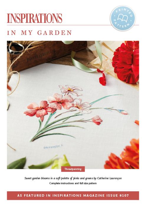 In My Garden - i107 Print