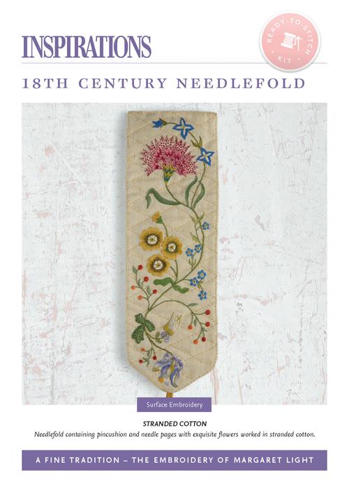 18th Century Needlefold: Stranded Cotton - AFT Kit