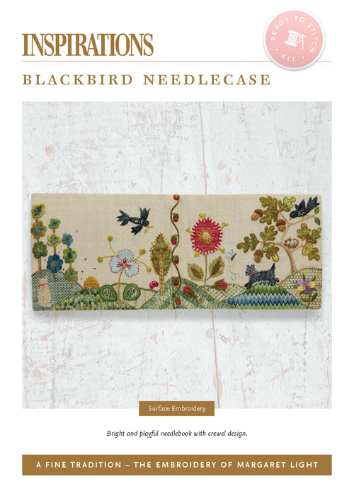 Blackbird Needlebook - AFT Kit