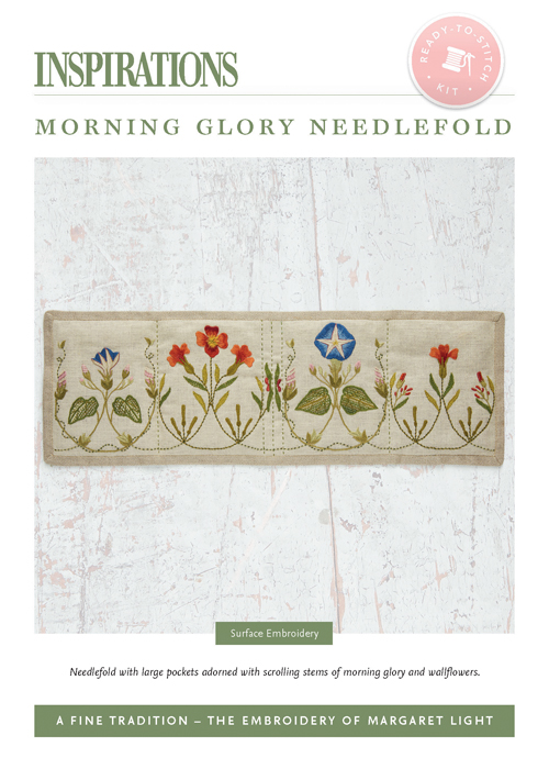 Morning Glory Needlefold - AFT Kit