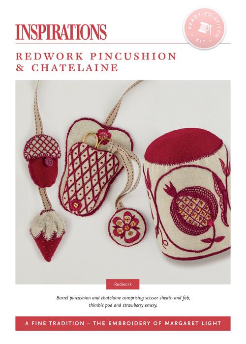 Redwork Pincushion & Chatelaine - AFT Kit