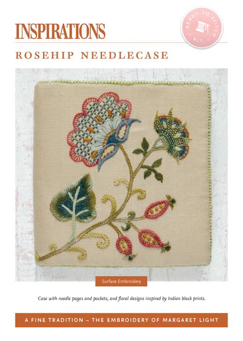 Rosehip Needlecase - AFT Kit