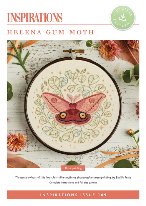 Helena Gum Moth - i109 Digital