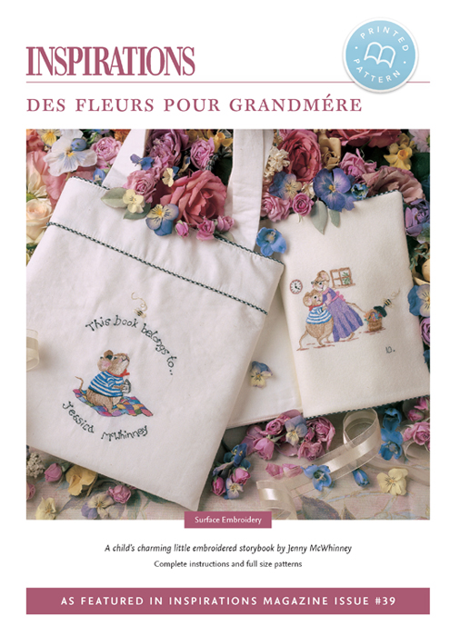 Des Fleurs Pour Grandmere (Flowers for Grandmother) - i39 Print