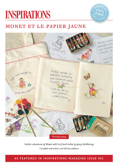 Monet et le Papier Jaune (Monet and the Yellow Paper) - i51 Print