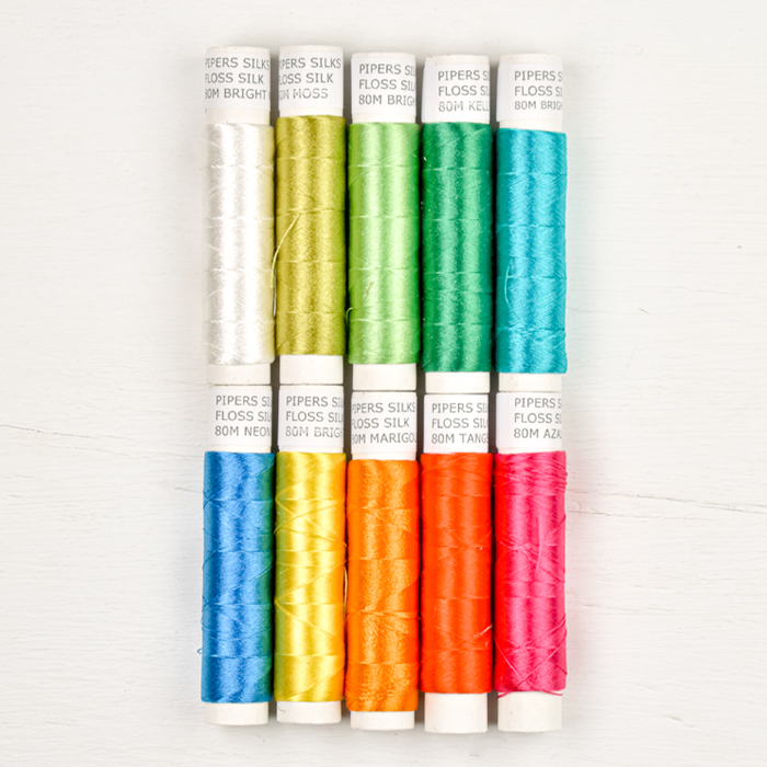 Pipers Silks Thread Pack - Brights
