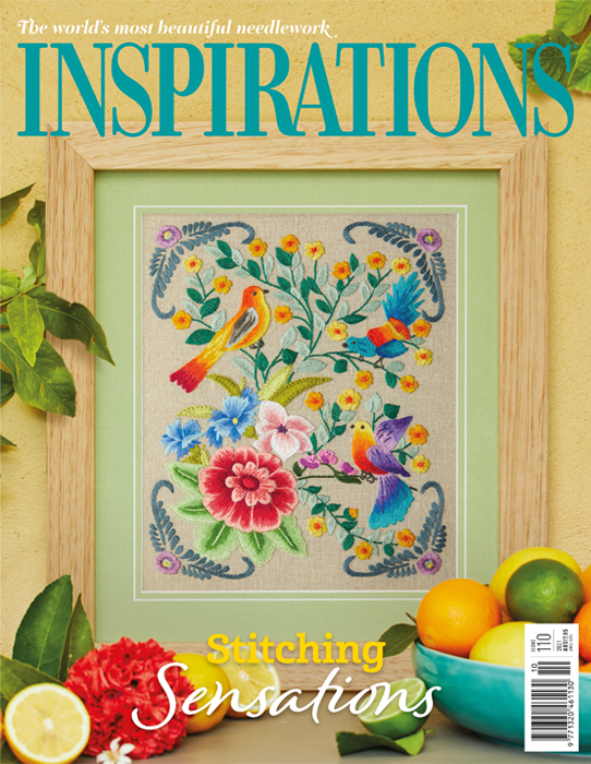 Inspirations Issue 110 - Digital - Stitching Sensations