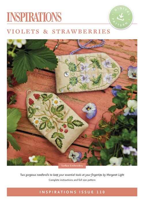 Violets & Strawberries - i110 Digital