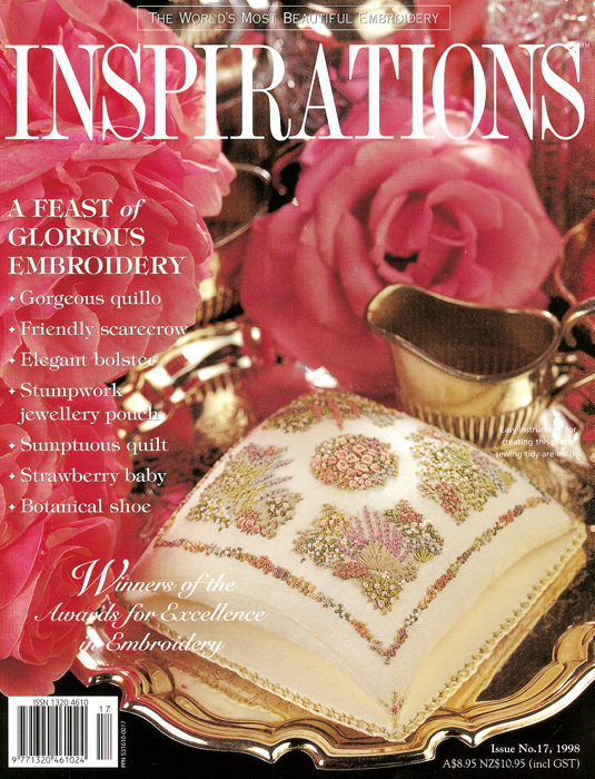 Inspirations Issue 17 - A Feast of Glorious Embroidery
