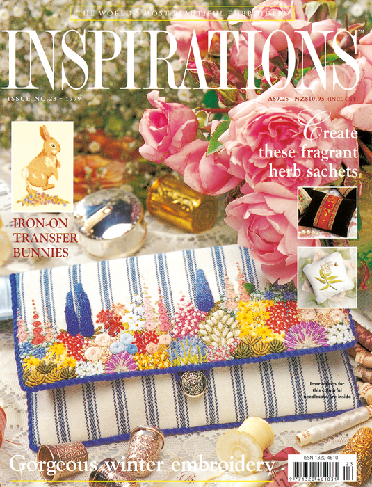 Inspirations Issue 23 - Gorgeous Winter Embroidery