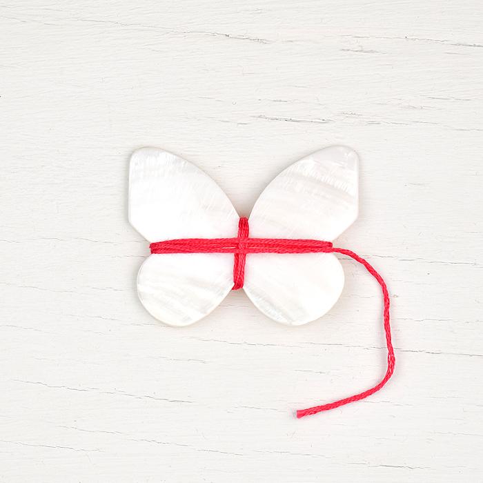 Kelmscott Thread Winder - Butterfly