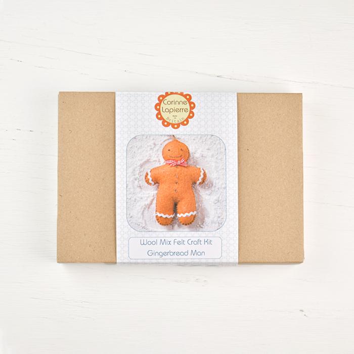 Corinne Lapierre Felt Mini Kit - Gingerbread Man