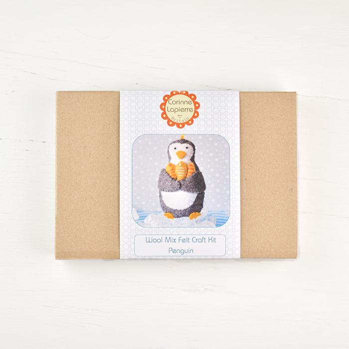 Corinne Lapierre Felt Mini Kit - Penguin