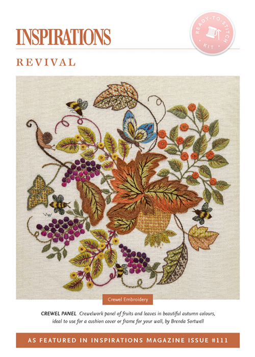 Revival: Crewel Panel - i111 Kit