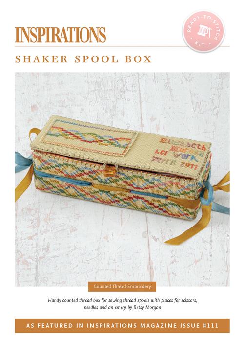 Shaker Spool Box - i111 Kit