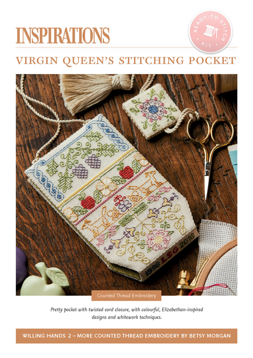 Virgin Queen's Stitching Pocket - WH2 Kit