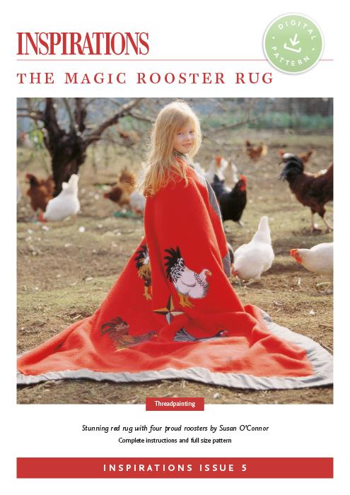 The Magic Rooster Rug - i5 Digital