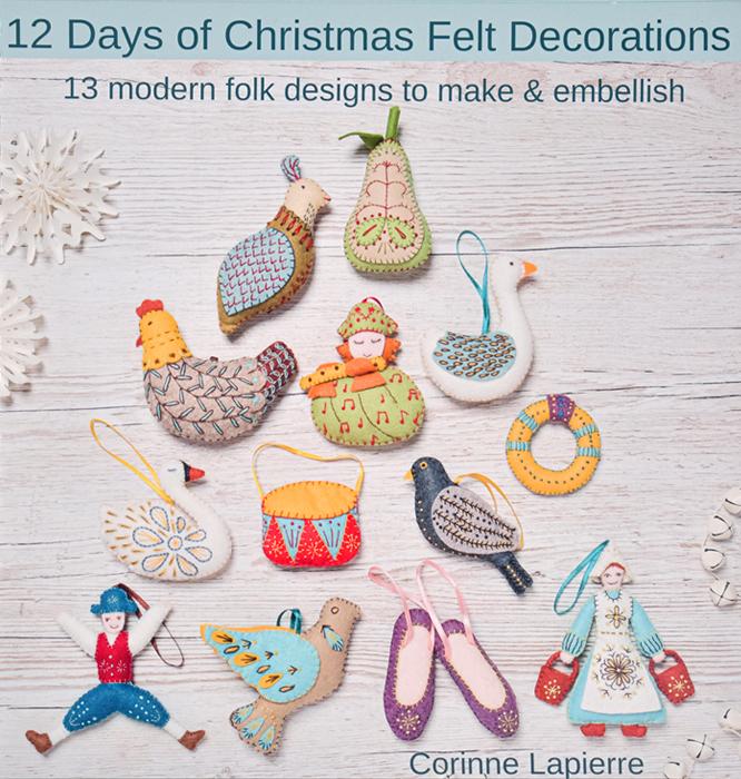12 Days of Christmas Felt Decorations