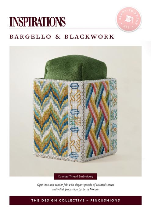 Bargello & Blackwork - Kit Coming Soon